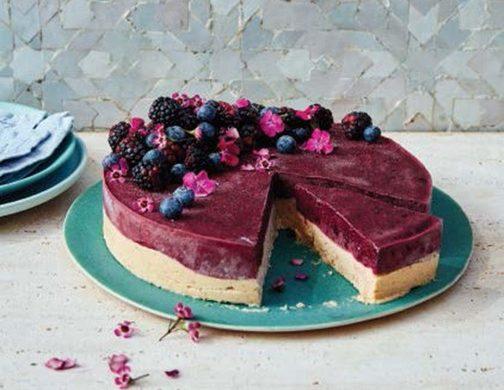 Berry güzel kremalı kek