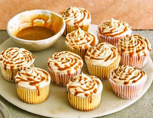 Tuzlu karamelli kekler